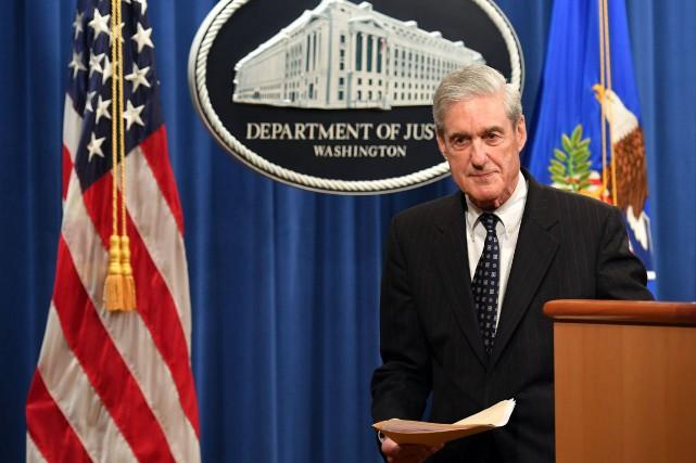 Le procureur spécial Robert Mueller a dirigé pendant... (PHOTO MANDEL NGAN, ARCHIVES AGENCE FRANCE-PRESSE)