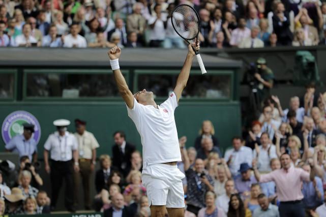 Wimbledon: Federer bat Nadal et rejoint Djokovic en finale
