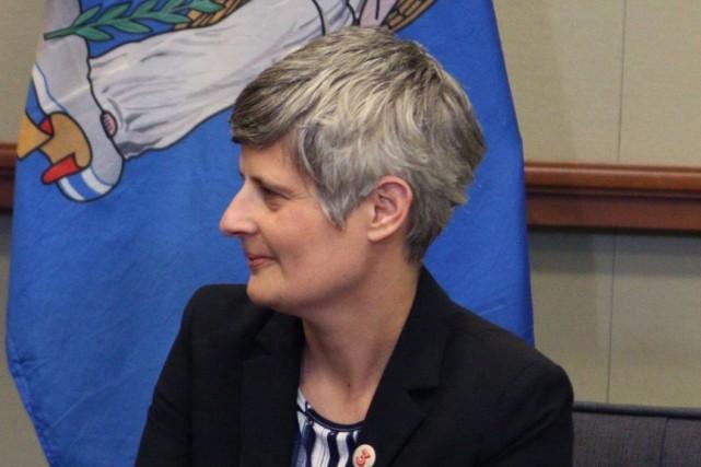 La mairesse de Victoria, Lisa Helps... (PHOTO CHAD HIPOLITO, ARCHIVES LA PRESSE CANADIENNE)