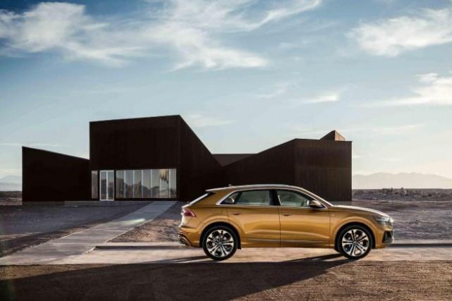 Comparons l'Audi Q8 au BMW X6 et au Coupé GLE de Mercedes. Et écoutons... (PHOTOAUDI)