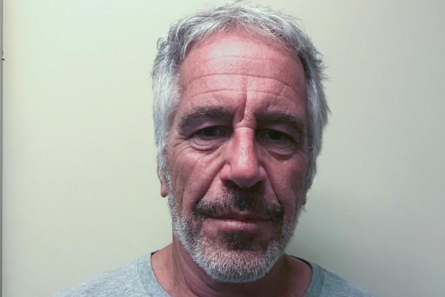 Jeffrey Epstein encourt jusqu'à 45 ans de prison... (PHOTO COUR CRIMINELLE DE NEW YORK/REUTERS)