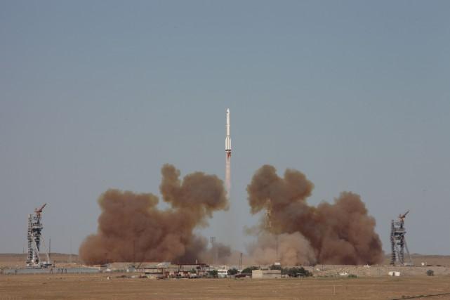 Le décollage était à l'origine prévu pour le... (PHOTO REUTERS/AGENCE SPATIALE RUSSE)