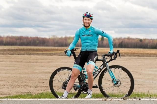 Le cycliste Hugo Houle est le quatrième Québécois... (PHOTO ROBERT SKINNER, ARCHIVES LA PRESSE)
