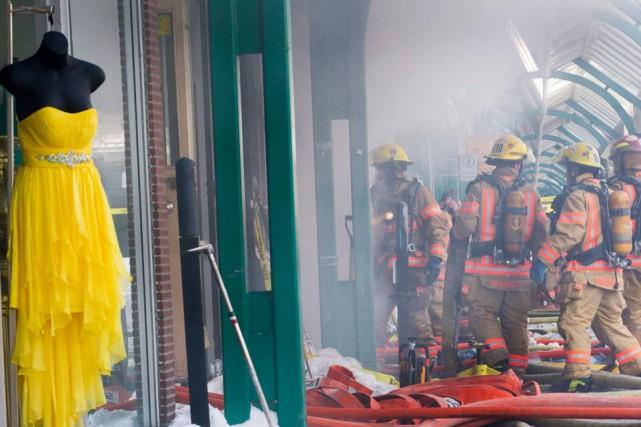Montréal payera pourdes bâtiments incendiés parsafaute