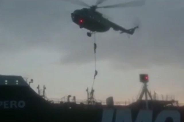 Londres exhorte Téhéran à «libérer» le pétrolier battant pavillon britannique