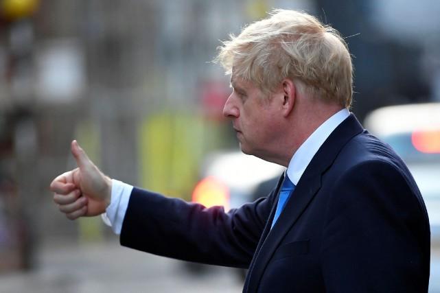 Boris Johnson chez la reine, qui fera de lui le nouveau premier ministre