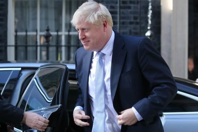 Boris Johnson est le nouveau premier ministre du... (PHOTO AFP)