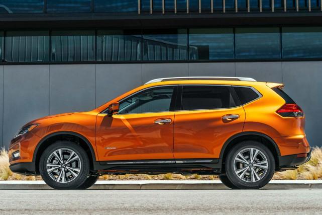 Le Nissan Rogue hybride a été lancé au... (PHOTO NISSAN)