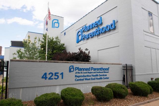 Les locaux de l'organisme Planned Parenthood à St.Louis,... (PHOTO SAUL LOEB, ARCHIVES AGENCE FRANCE-PRESSE)
