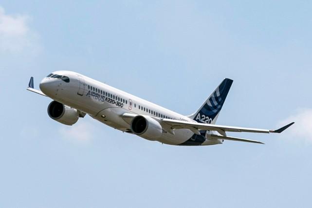 Air France mise sur le Canada pour sa commande d'Airbus A220