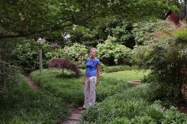 Anna Burger a cultivé cette propriété en mettant... (PHOTO ANNA GASSOT, ARCHIVES AGENCE FRANCE-PRESSE)