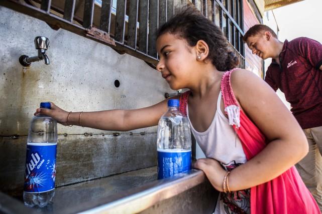 «La pénurie en eau est la plus grande... (PHOTO AFP)
