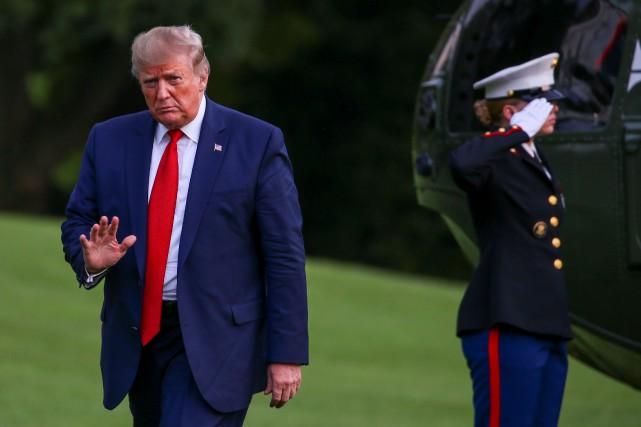 Sondage: 36% des Américains approuvent le travail de Donald Trump