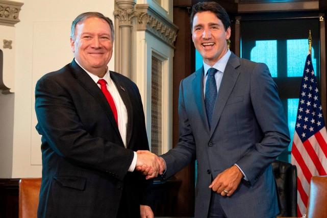 Canadiens détenus en Chine: Pompeo promet à nouveau l'aide des É.-U.