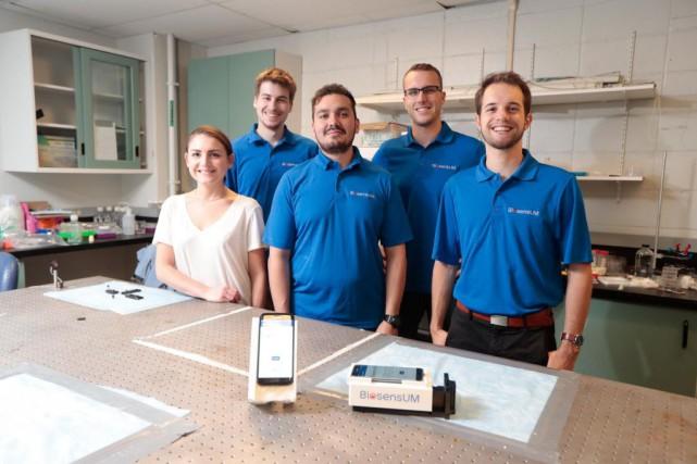 Arthrite:un appareil conçu par des Québécois dans un concours aux Pays-Bas