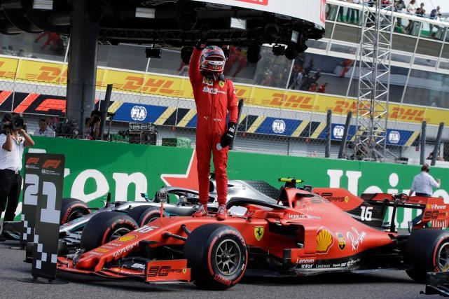 Charles Leclerc en pole au GP d'Italie, Lance Stroll 9e