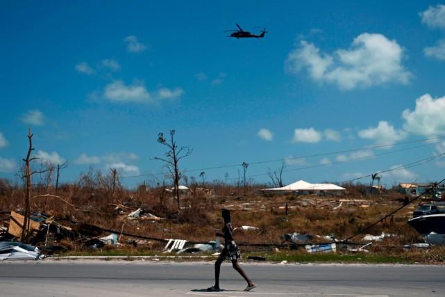 Bahamas: encore 2500 personnes non localisées après l'ouragan