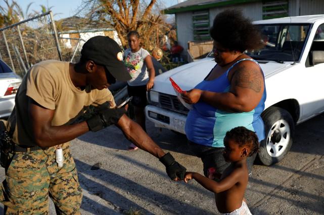 Bahamas: encore 1300 personnes non localisées
