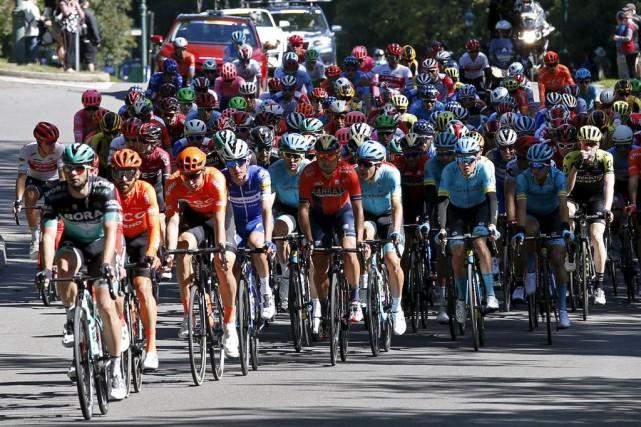 Michael Matthews remporte encore le Grand Prix cycliste de Québec