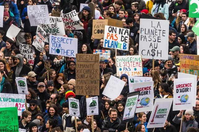 Les mandats de grève pour le climat se multiplient