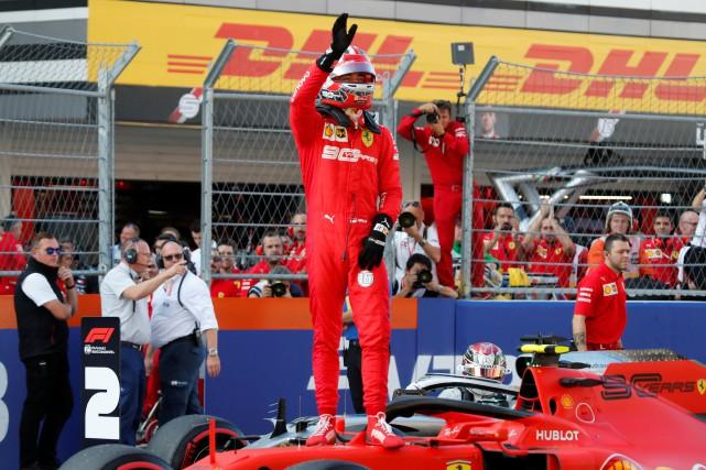 GP de Russie: 4epole position consécutive pour Charles Leclerc