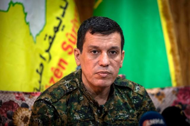 Erdogan appelle les É.-U. à livrer le commandant des forces kurdes
