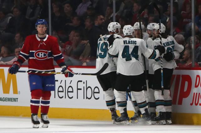Les Sharks ont le dessus sur le Canadien 4-2