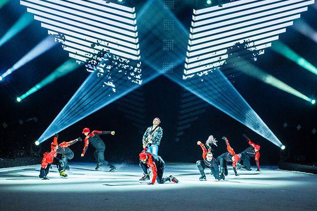 Le Cirque du Soleil est de retour sur glace avec AXEL, un spectacle réunissant...