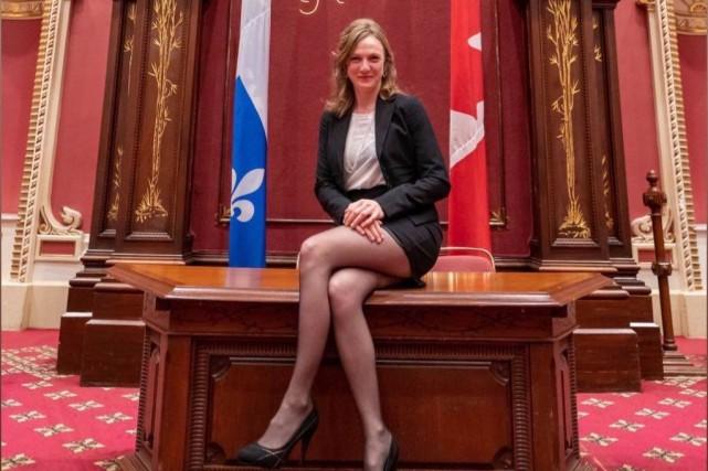 Le Parti libéral porte plainte contre Catherine Dorion