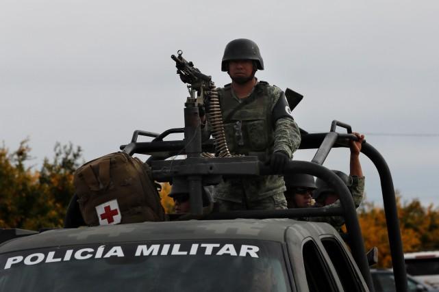 Le Mexique refusera toute opération armée américaine contre les cartels