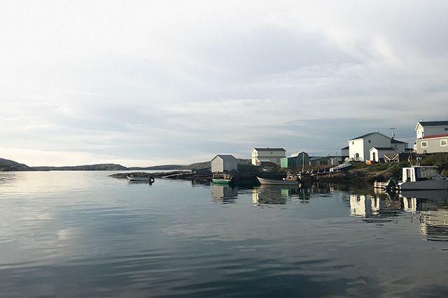 Harrington Harbour sur la Basse-Côte-Nord... (CRÉDIT PHOTO: BRUNO GUGLIELMINETTI)