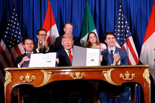 Nouvel ALENA: les États-Unis, le Mexique et le Canada s'entendent