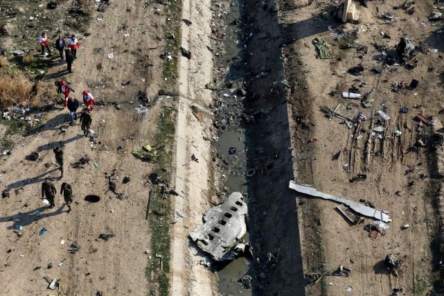 L'Iran confirme avoir abattu accidentellement l'avion ukrainien
