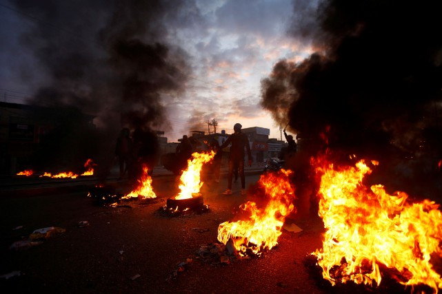 Les manifestations reprennent de la vigueur en Irak