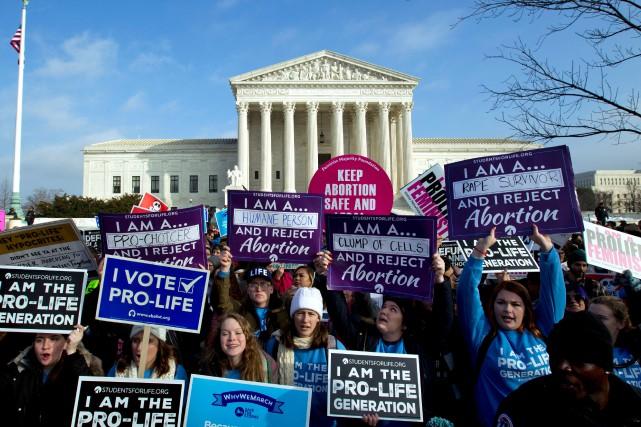 Donald Trump, premier président à participer à la marche anti-avortement