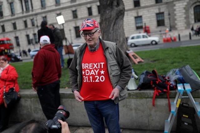 Jour de Brexit au Royaume-Uni
