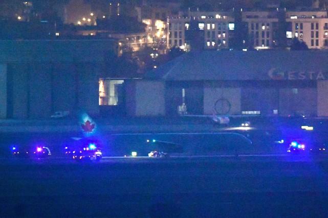 Atterrissage réussi pour un vol d'Air Canada en difficulté à Madrid