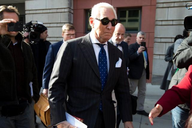 Donald Trump accusé d'ingérence judiciaire au profit de son ami Roger Stone