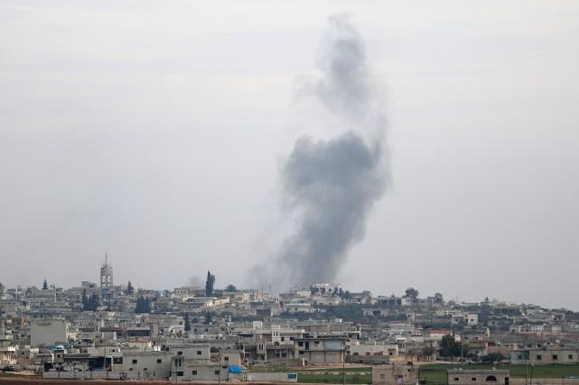 Trump exhorte la Russie à cesser de soutenir les «atrocités» en Syrie