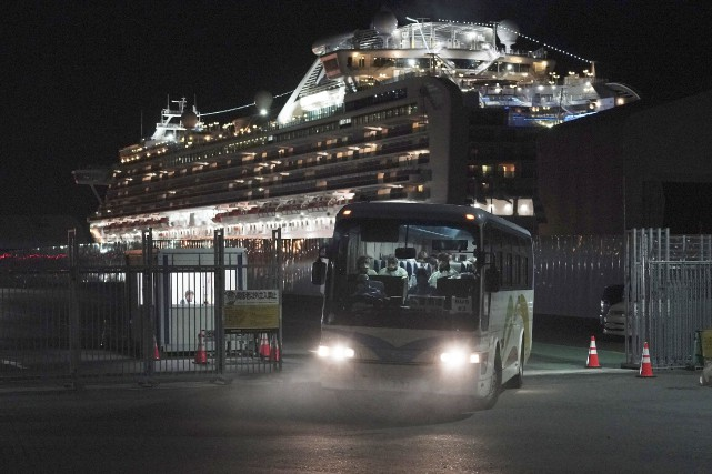 Coronavirus: 47 Canadiens infectés à bord du Diamond Princess