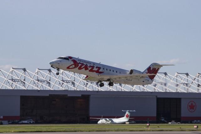 Un incendie dans le train d'atterrissage d'un avion d'Air Canada à Dorval