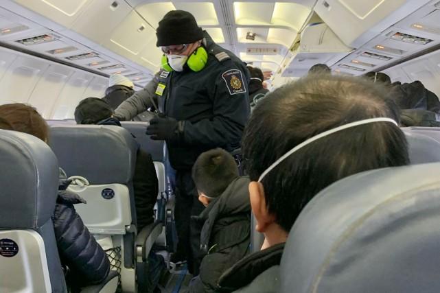 Coronavirus: les Canadiens évacués de Wuhan n'ont pas été malades