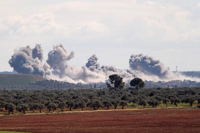 Syrie: deux avions du régime abattus par l'armée turque