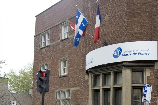 Possible cas de COVID-19: fermeture temporaire du Collège international Marie De France