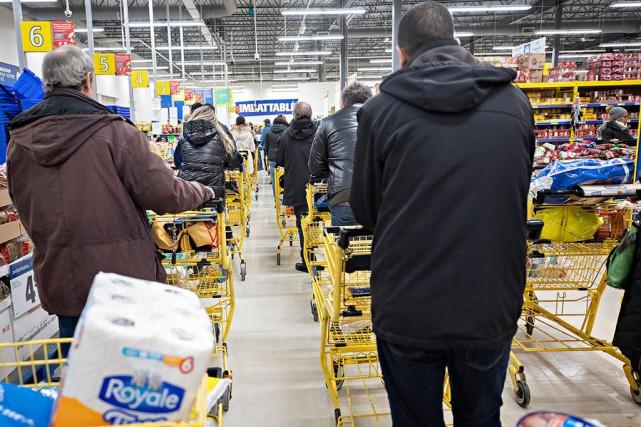 Épicerie en ligne: les systèmes n'étaient pas prêts
