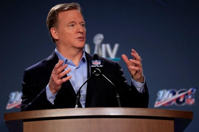 Trump discute avec les commissaires des principales ligues sportives