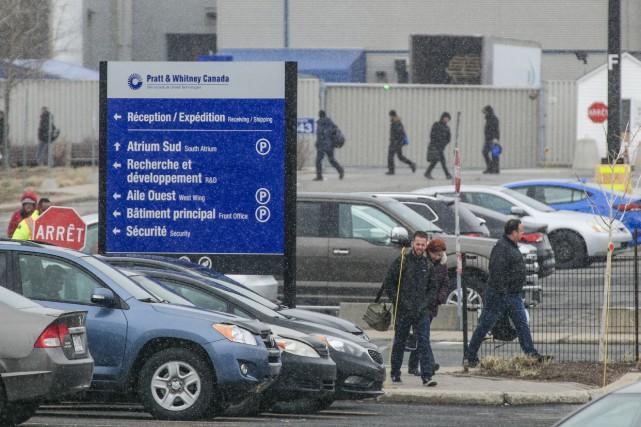 Des employés de Pratt&Whitney doivent retourner à l'usine malgré la pandémie