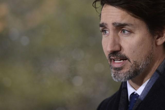 Trudeau souligne les prêts sans intérêts pour PME