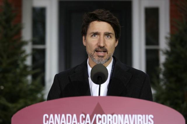 Des assouplissements avant la fin de la premièrevague, dit Trudeau