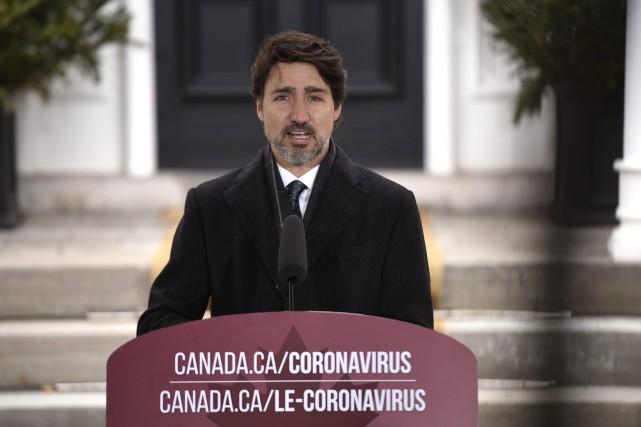 Trudeau envisage des assouplissements à l'été